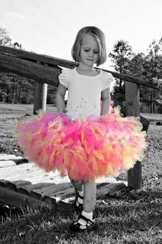 Pink Lemonade Sewn PettiTutu...Newborn to 14
