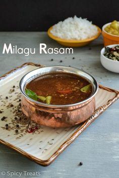 Spicy Treats: Milagu Rasam / Pepper Rasam