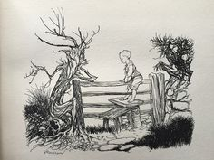 From 'Arthur Rackham's Book of Pictures'.