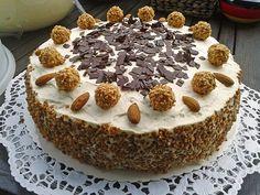 Giotto-Torte, ein sehr leckeres Rezept aus der Kategorie Torten. Bewertungen: 230. Durchschnitt: Ø 4,6.