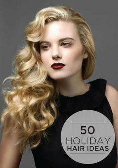 Get these gorgeous holiday hair looks with the help of Pantene!