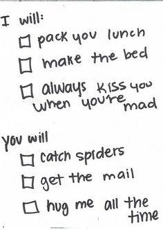 To my husband :)