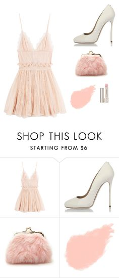 """""""Light pink & ivory again?!"""" by stylishsyd ❤ liked on Polyvore featuring Alexander McQueen, Dsquared2, Forever 21, Yves Saint Laurent and By Terry"""