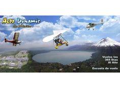 Vuelo de introducción a la escuela con Aerodynamic de México