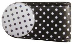 Check out our Polka Dots (Black & White) BOG Golf Crocodile Clip with Golf Ball Marker! Find the best golf gear and accessories at Lori's Golf Shoppe. Click through now to see this!