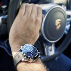 Edox Chronoffshore-1 Automatic Chronograph #edox #edoxswisswatches #chronoffshore-1 #automatic #chronograph #7750 #ceramicbezel #swisswatches #swissmade #porsche #luxurycar #sportwatch #wotd #timingforchampions