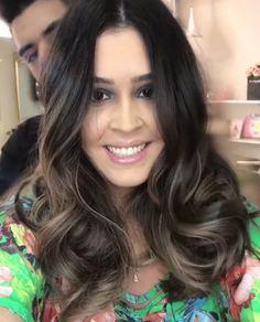 Morena iluminada, inspiração!  Por Joaquim Ferraz. #cabelo #inspiration #morenailuminada #love