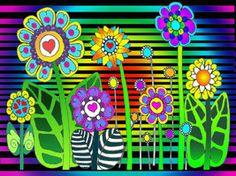 HIPPIE FLOWERS by *CorazondeDios on deviantART