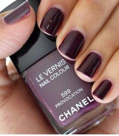 My favorite winter color is now made by Chanel