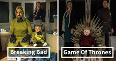 2-Year-Old Son And His Parents Recreate Famous Movie Scenes Using Cardboard Boxes | Bored Panda