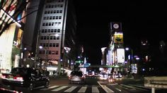 (HD)Drive at night in Tokyo--One of my bucket lists