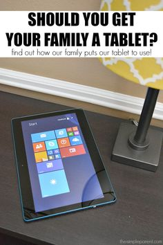 Should you get a tablet for family use? Check out some of the easy ways our family puts our tablet to use when we're at home or traveling!