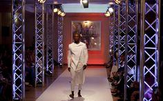 Moda masculina. Branco, vermelho e preto, por Nelson Lisboa   Rede Angola