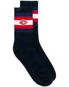 cf49e596b Gucci - Blue Game Patch Socks for Men - Lyst Blue Game, Festival Fashion,