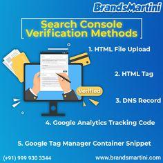 Verify your site ownership - Search Console Help Marketing News, Digital Marketing, Domain Server, Google Sites, Google Analytics, New Market, Verify