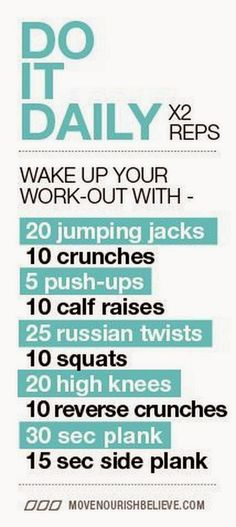 Work-out : Do it daily - Weight Loss Tips