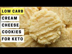 Low Carb Cream Cheese Cookies Recipe For Keto NET CARBS),How to make low carb cream cheese cookies for the keto diet! Easily THE BEST keto cream cheese cookie recipe you'll try. These low carb cookies are so. Keto Cookies, Cream Cheese Cookie Recipe, Cookies Et Biscuits, Eggnog Cookies, Keto Desserts, Keto Snacks, Keto Recipes, Lunch Recipes, Cookie Recipes
