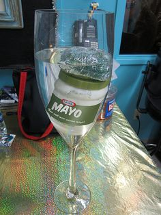 Happy Sink-O Da Mayo! This is how we celebrate the 5th of May around here.