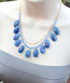 Cornflower Blue Jade