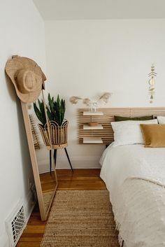 Cozy Neutral Bedroom — Miss Jess Craven Neutral Bedroom Decor, Neutral Bedrooms, Bedroom Colors, Room Decor Bedroom, Masculine Bedrooms, White Bedrooms, Bedroom Ideas, Master Bedroom, Ikea Headboard