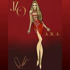 @jlo  The Jennifer Lopez Eras, A.K.A by Daren J #JLo #AKA #JLover #JLovers #JLoAKA #JLoJune17 #JLoJune17AKA #JLoFirstLove #jenniferlopez #JLoeras #fashion #fashionart #fashionillustration #fashiondesign #art #illustration #actress #singer #celebrity #darenj