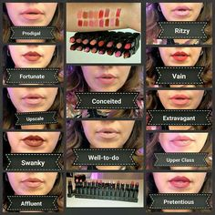 Shop Younique's MOODSTRUCK OPULENCE® lipstick collection for bold, beautiful colors that stay put. Dreamy lipstick for whatever mood you're in. 3d Fiber Mascara, 3d Mascara, Fiber Lashes, Lipstick Shades, Lipstick Colors, Fall Lipstick, Lip Colors, Younique Lipstick, Lipsticks