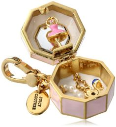 Juicy Couture Music Box Charm - actually opens & closes. Jewelry Show, Trendy Jewelry, Cute Jewelry, Charm Jewelry, Jewelry Accessories, Fashion Accessories, Unique Jewelry, Juicy Couture Charms, Dior