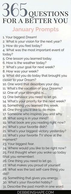 365 questions for Group accountability, support and fun Becoming a better you is the goal of every high-achiever. Come and join me for 365 questions for a better you, the January edition. 365 Questions, Random Questions, Youtube Questions, Facebook Questions, Coaching Questions, Instagram Questions, Fun Questions To Ask, Becoming A Better You, Self Discovery
