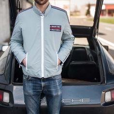 Light Blue Jacket - Martini Racing Team