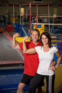 Nadia Comaneci & Bart Connor----fav Olympic gymnasts of all time!