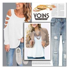 """""""Yoins40"""" by angel-a-m ❤ liked on Polyvore featuring Fendi"""
