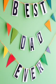 Father's Day Hardware Store Garland DIY