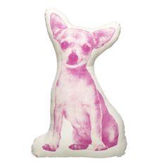 NEW Areaware Fauna Cushion Mini Chihuahua