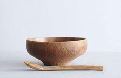 analogue life - hiroyuki watanabe - wood soup spoon + soup bowl