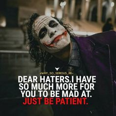 Most memorable quotes from Joker, a movie based on film. Find important Joker Quotes from film. Joker Quotes about who is the joker and why batman kill joker. Joker Qoutes, Joker Frases, Best Joker Quotes, Badass Quotes, Batman Quotes, Dark Quotes, Wisdom Quotes, True Quotes, Funny Quotes