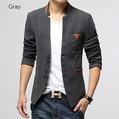Asian Designer New Style Wool Blazer Jacket – Sneak Outfitters