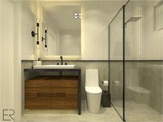 Banheiro   By Eduarda Ritzmann Arquitetura e Paisagismo