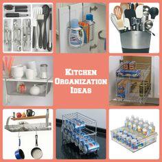 Kitchen Organization Ideas #NewYearsResolutions