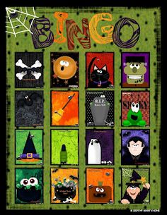 Cute Halloween Bingo!