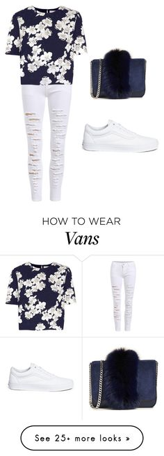 """Untitled #410"" by adzea on Polyvore featuring Erdem, Vans, Loeffler Randall and CoffeeDate"