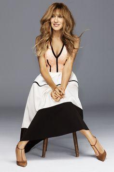 Sarah Jessica Parker by Alexi Lubomirski for Harper's Bazaar US October 2015 - Balenciaga Fall 2015