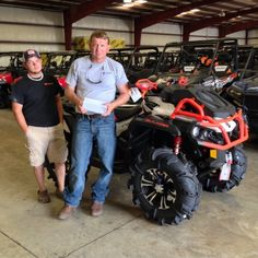 Thanks to Chris Lundy and Charlie Bottoms from Geneva AL for getting a 2016 Can Am Outlander Xmr 1000 at Hattiesburg Cycles