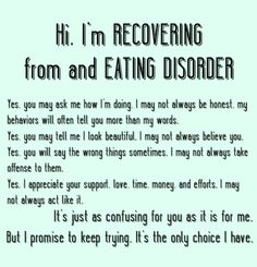 eating disorder recovery truths.
