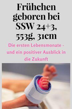 Viel zu früh geboren, klein, zart und doch so stark. Eine Frühgeburt bedeutet einen schweren Start ins Leben, doch Frühchen sind auch Kämpfer. Dieser Bericht macht allen Schwangeren Mut. #Frühgeburt #Frühchen #Schwangerschaft