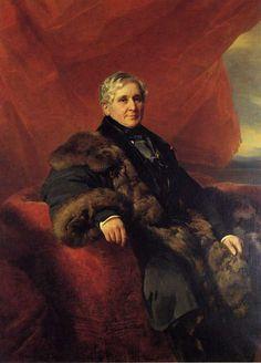 Franz Xaver Winterhalter - Portrait of Charles-Jerome, Comte Pozzo di Borgo - 1849