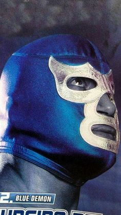 Blue Demon Lucha Underground, Mexican Wrestler, Goofy Disney, Demon Tattoo, Batman Vs Superman, Mexican Art, Wrestling, Comics, Poster