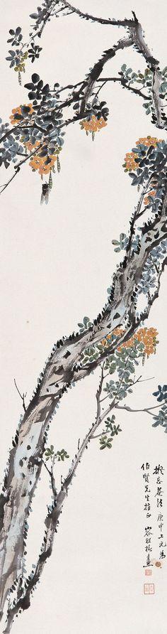 容祖椿花鸟作品欣赏 - wangchangzhengb - wangchangzhengb的博客