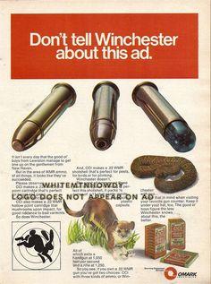 1975 Omark CCI Ammunition Print AD : Gun Posters, Catalogs & Flyers at GunBroker.com