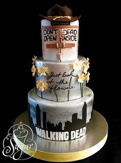 Walking Dead cake | by RebeccaSutterby
