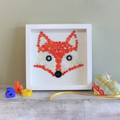 fox button picture by house of carvings and gifts | notonthehighstreet.com